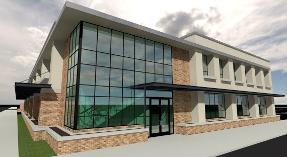 First Presbyterian Church of Orange, Rendering